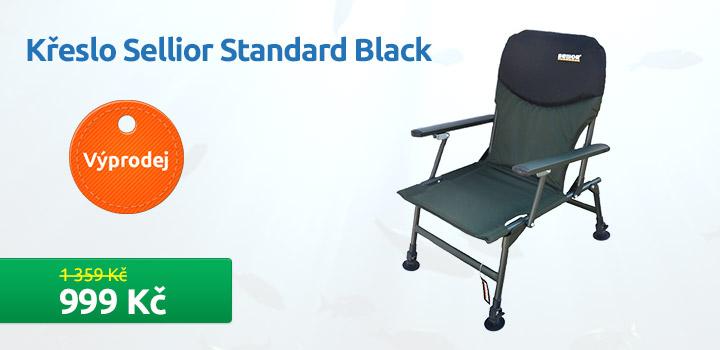 Křeslo Sellior Standard Black