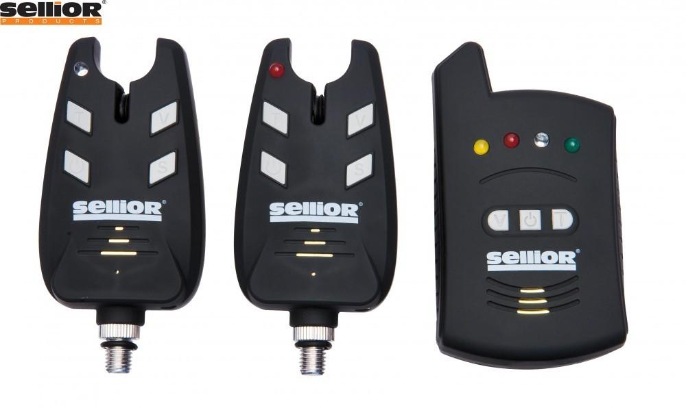 Image of Set signalizátroů s příposlechem Sellior Booster 2+1