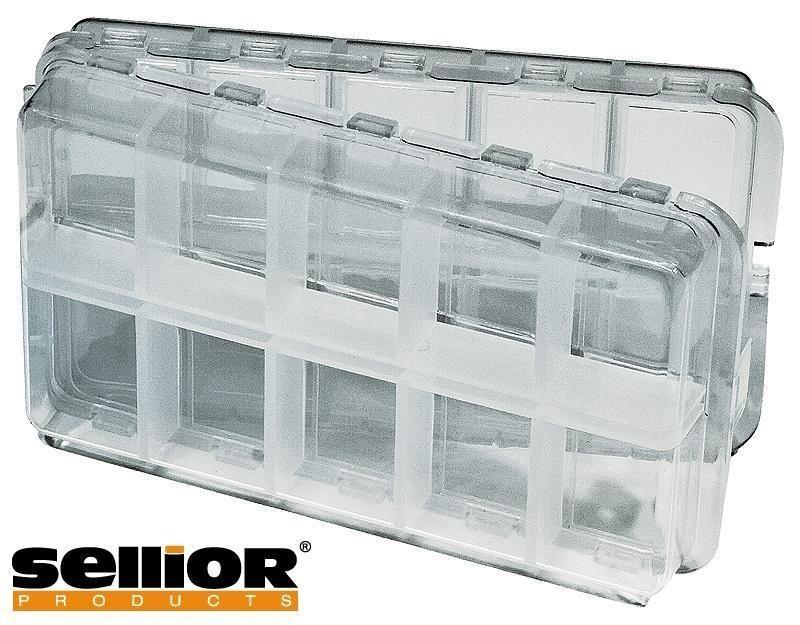 Krabička plastová čirá Sellior