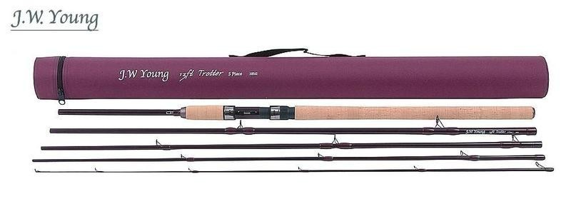 Prut J.W. Young Trotter Travel 3,90m, do 30g