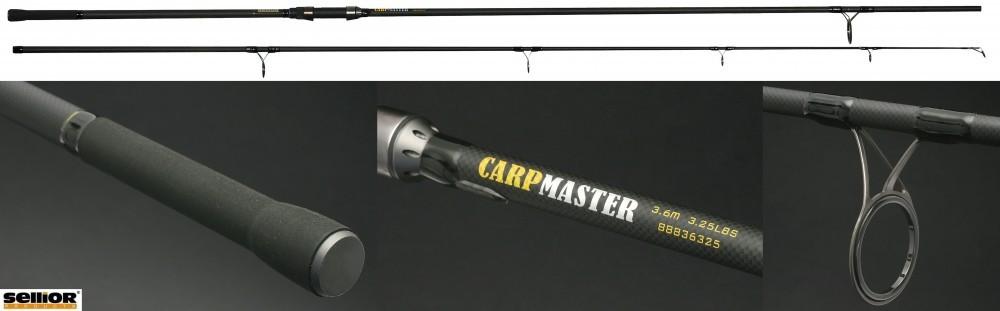 Prut Carp Master SELLIOR 3,60m, 3,25lb