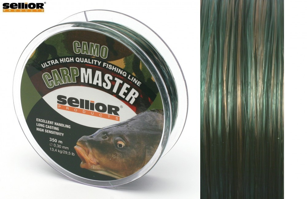 Vlasec Sellior Carpmaster Camo 0,25mm / 9,5kg / 600m