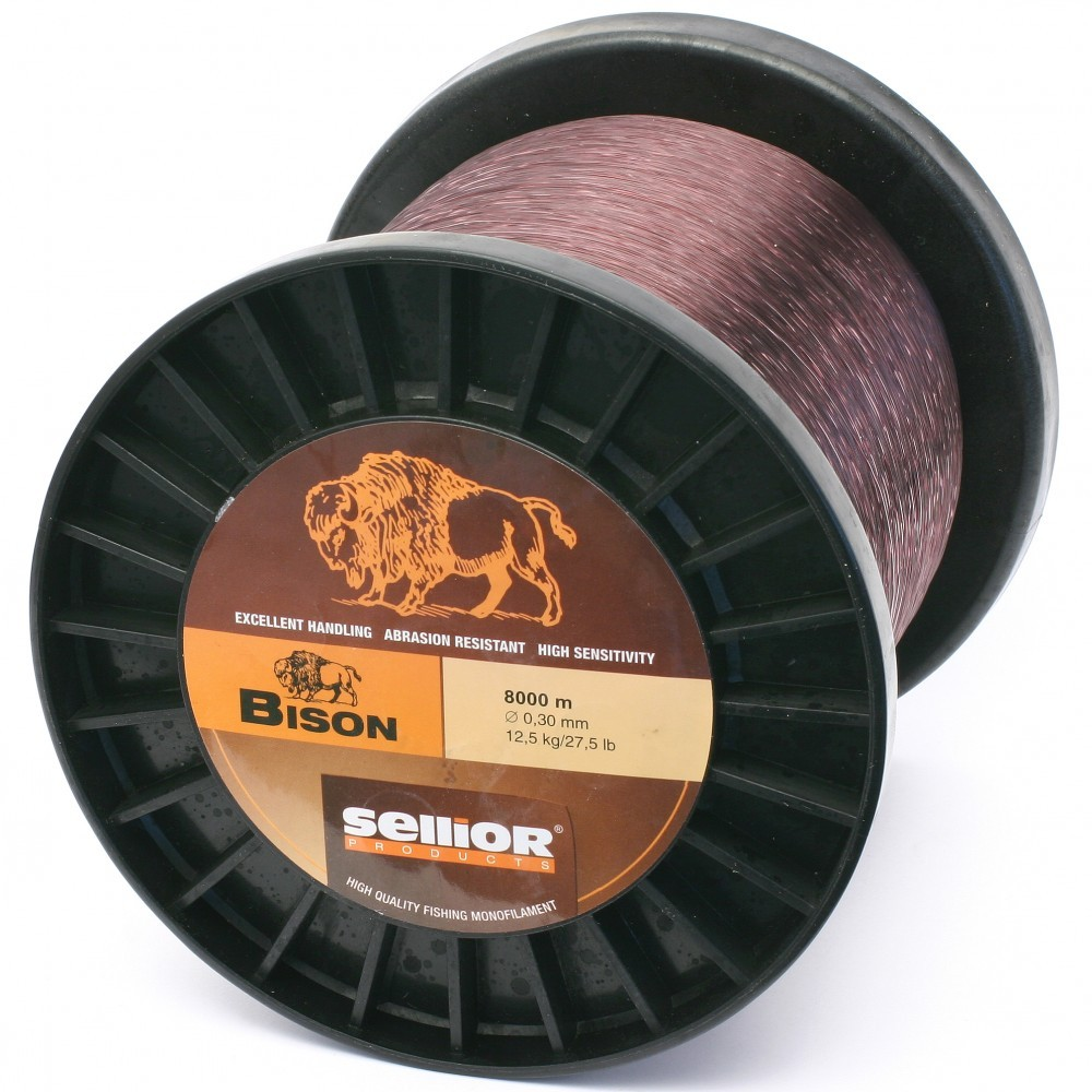 Vlasec SELLIOR Bison 0,30mm, 12,5kg, 8000m