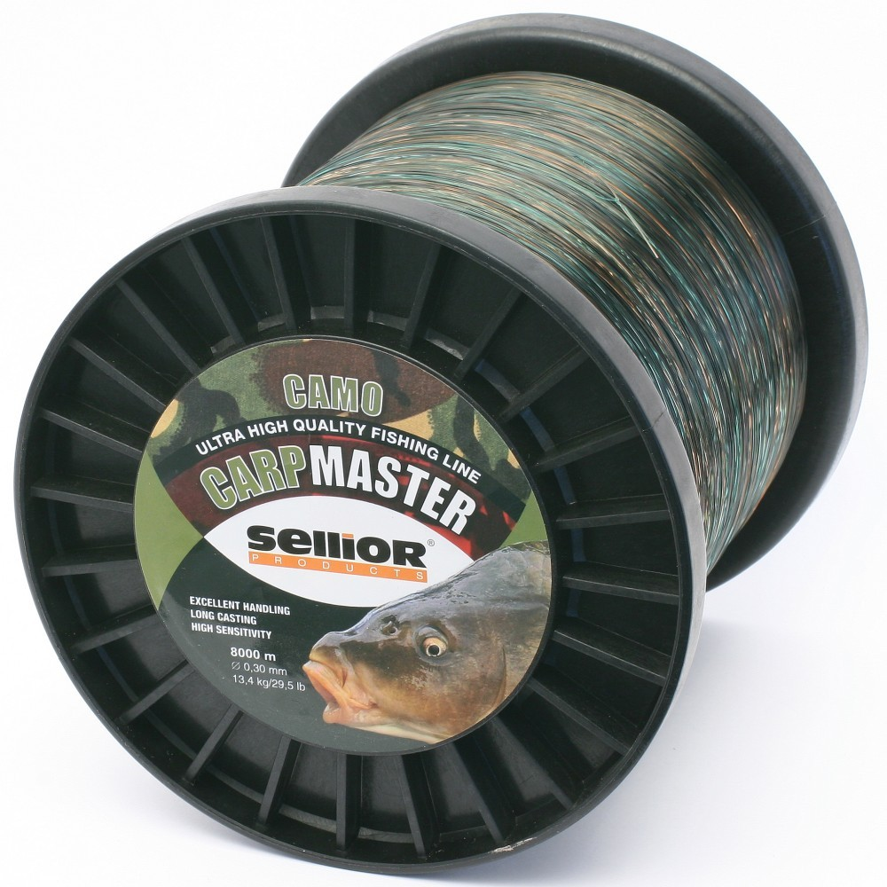 Vlasec SELLIOR CARPMASTER CAMO 0,28mm, 10,9kg, 5000m