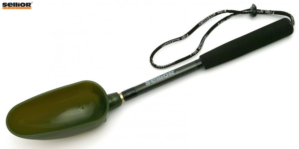 Zakrmovací lopatka s rukojetí SELLIOR - malá