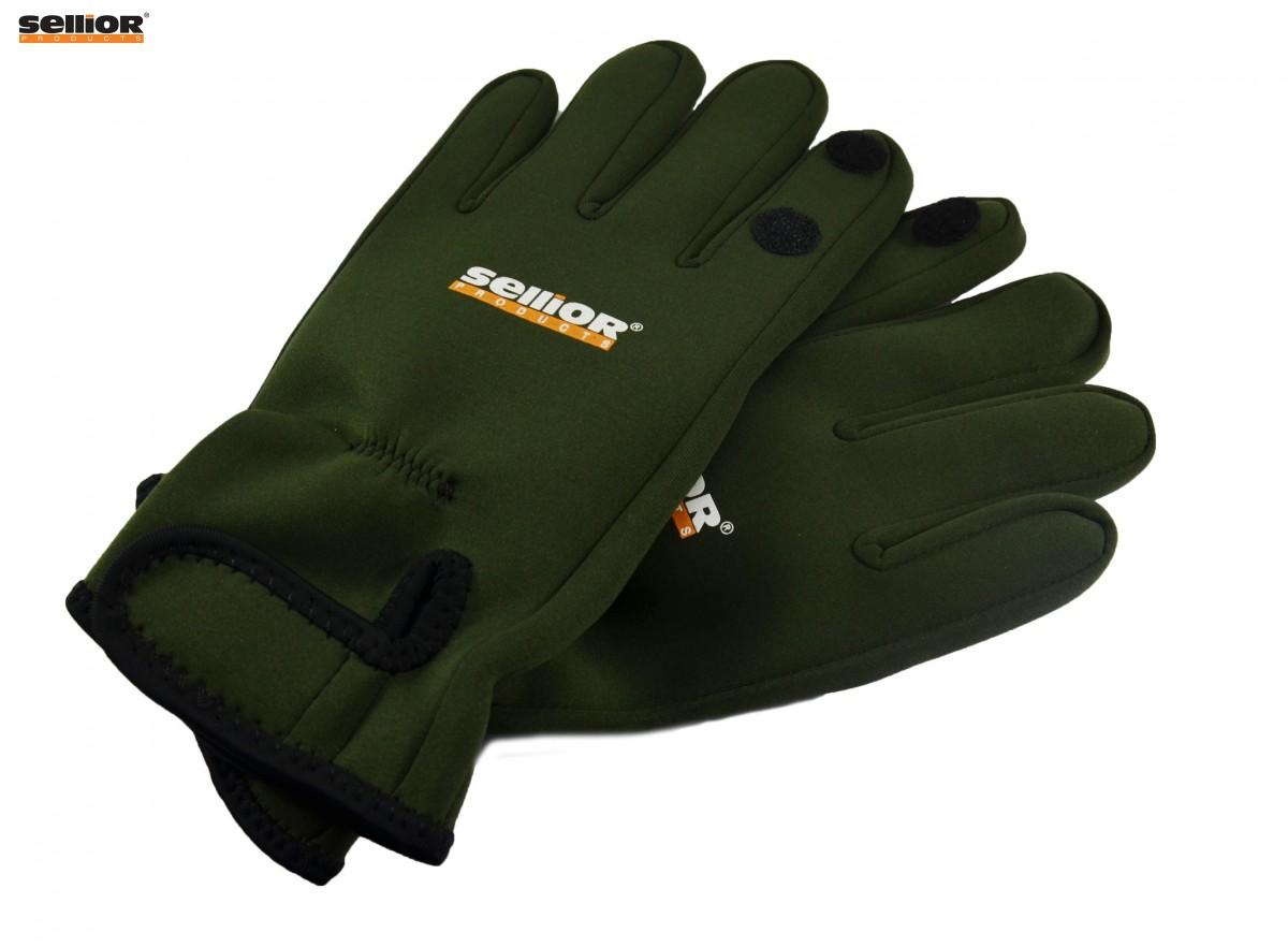 Neoprenové rukavice Sellior vel.L