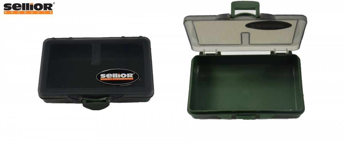 Krabička Sellior 10x7x2,5cm - jednokomorová