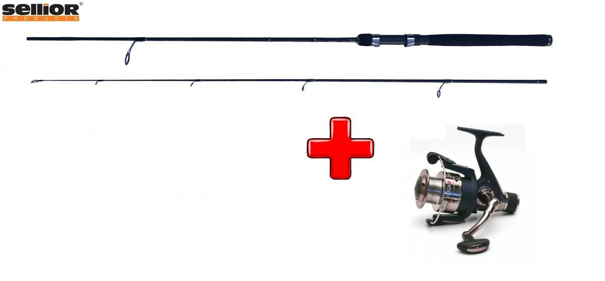 Akce Prut Sellior Premium Spin 1,8m + naviják Sellior Fuga 30