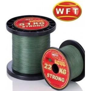 Šňůra pletená WFT KG STRONG NEW 0,18mm, 22kg