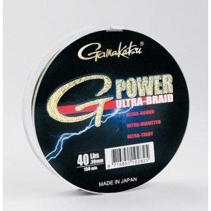 Šňůra splétaná G-Power Ultra Braid GAMAKATSU