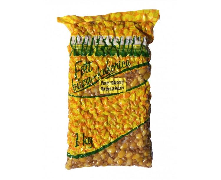 Kukuřice + Pšenice Professional Vařená Vakuovaná - 1kg
