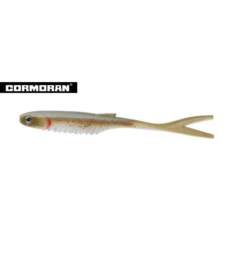 Cormoran Gumová Nástraha Snake Fin Shad Pumpkin Snake 14cm / 4ks