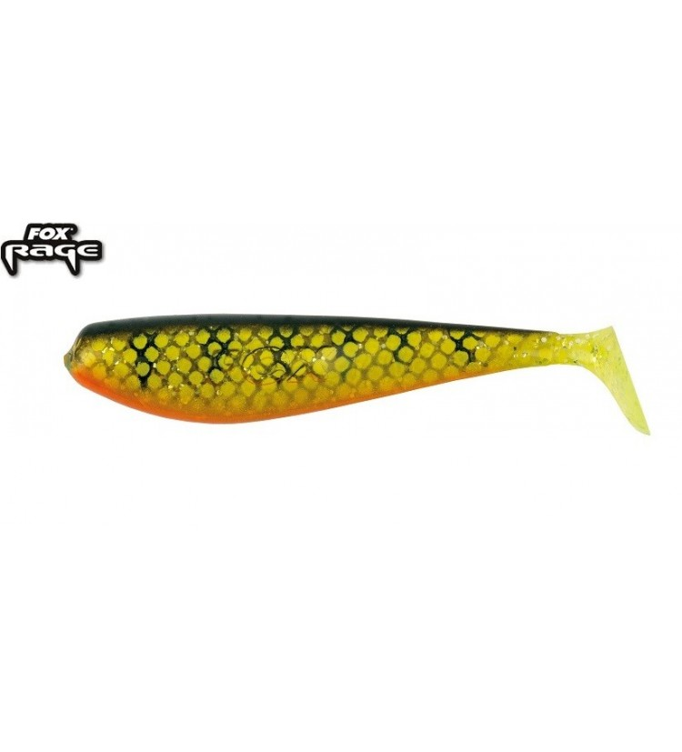 Fox Rage Zander Shad Bulk Natural Perch 12cm