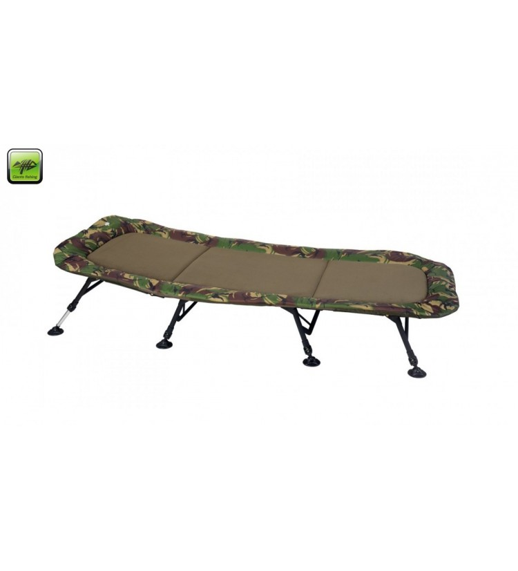 Lehátko Giants Fishing Bedchair Flat Fleece Camo XXL 8Leg