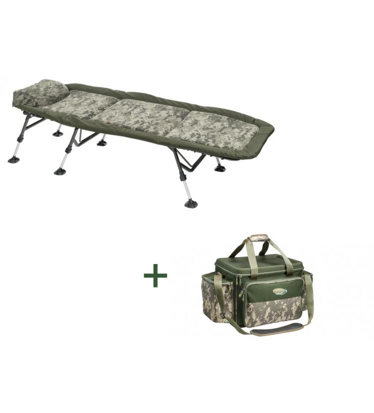 AKCE - Lehátko Mivardi Stealth Flat6 + ZDARMA Kaprařská taška Mivardi Stealth