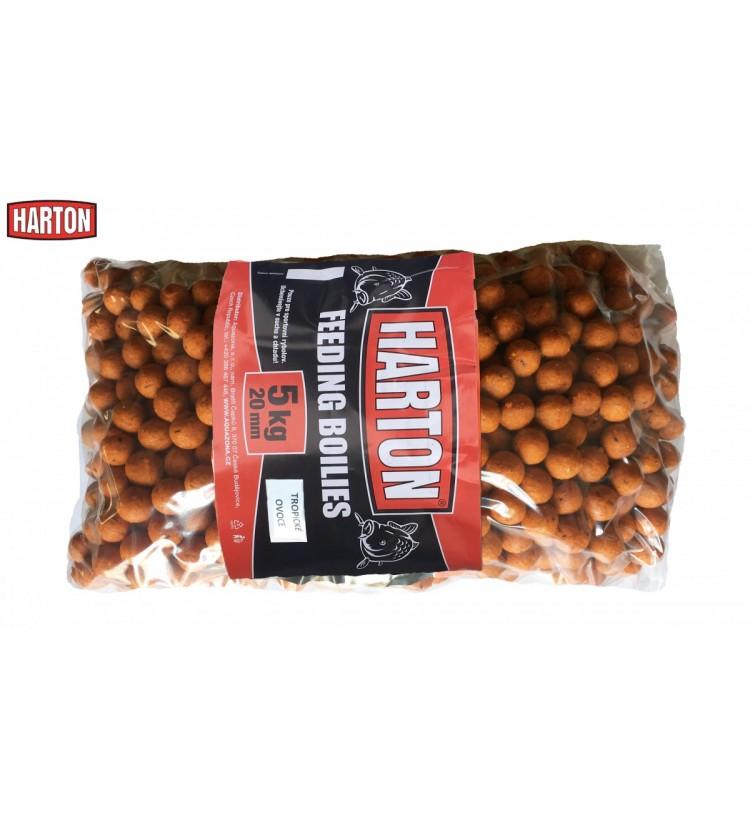 Krmné Boilies Harton 20mm / 5kg příchuť Tropické ovoce