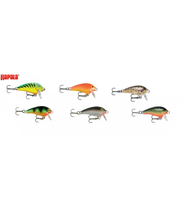 Woblery Rapala Fat Rap Mini 3cm