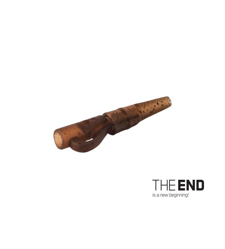 Delphin Závěsný PIN klip s gumičkou THE END 10ks