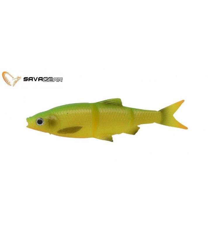 Savage Gear Gumová Nástraha 3D LB Roach Swim N Jerk Firetiger 10cm / 3ks / 10g