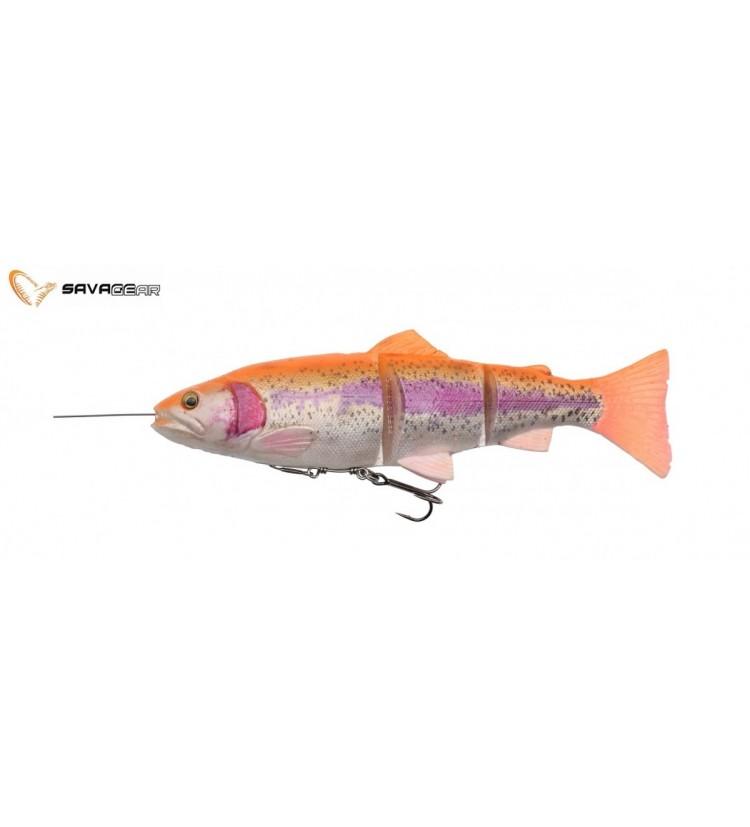Savage Gear Gumová Nástraha Pstruh 4D Line Trhu Trout SS Golden Albino 15cm 35g