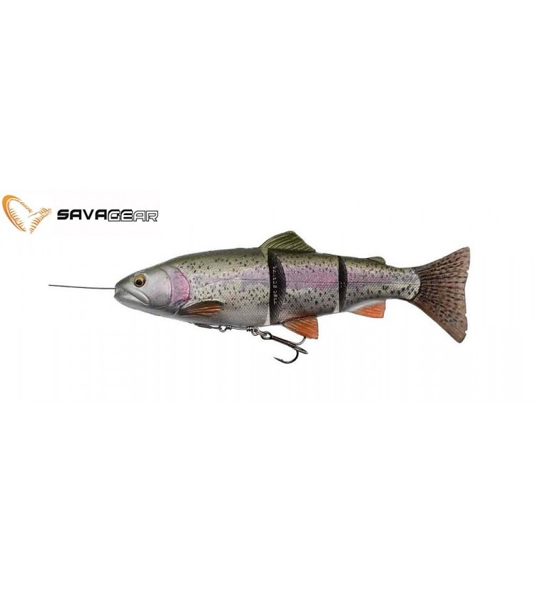 Savage Gear Gumová Nástraha Pstruh 4D Line Trhu Trout SS Rainbow 15cm 35g