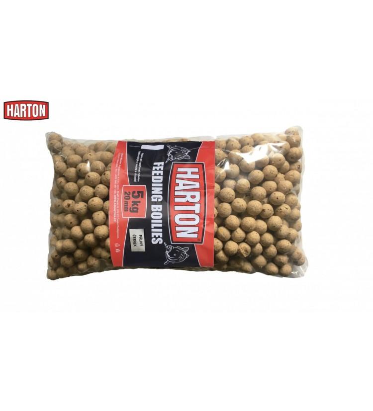 Krmné Boilies Harton 20mm / 5kg příchuť Pálivý Česnek