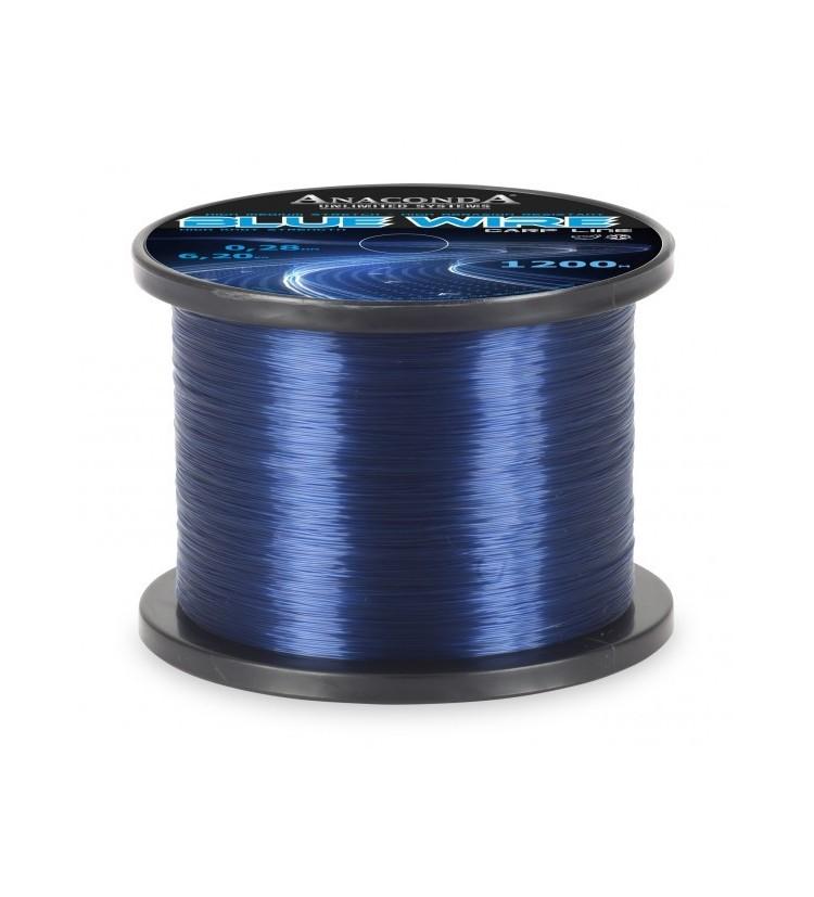 Vlasec Anaconda Blue Wire 1200m  průměr: 0,33 mm