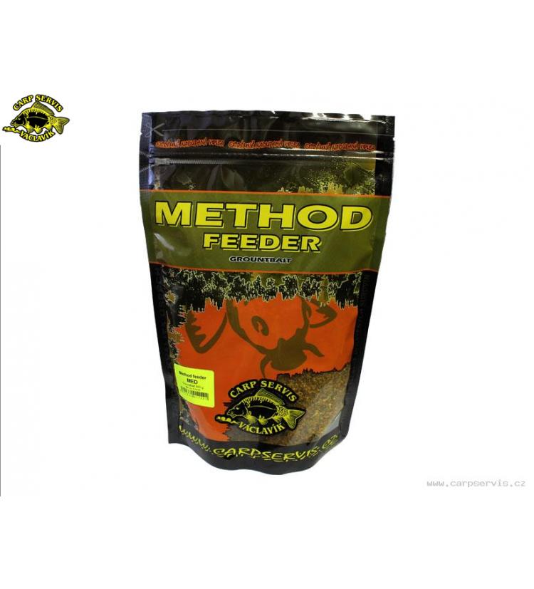Method Feeder Groundbait Carp Servis Václavík - 600 g/Med