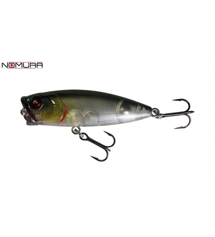 Wobler Nomura Small Popper Transparent Grey 5,5cm