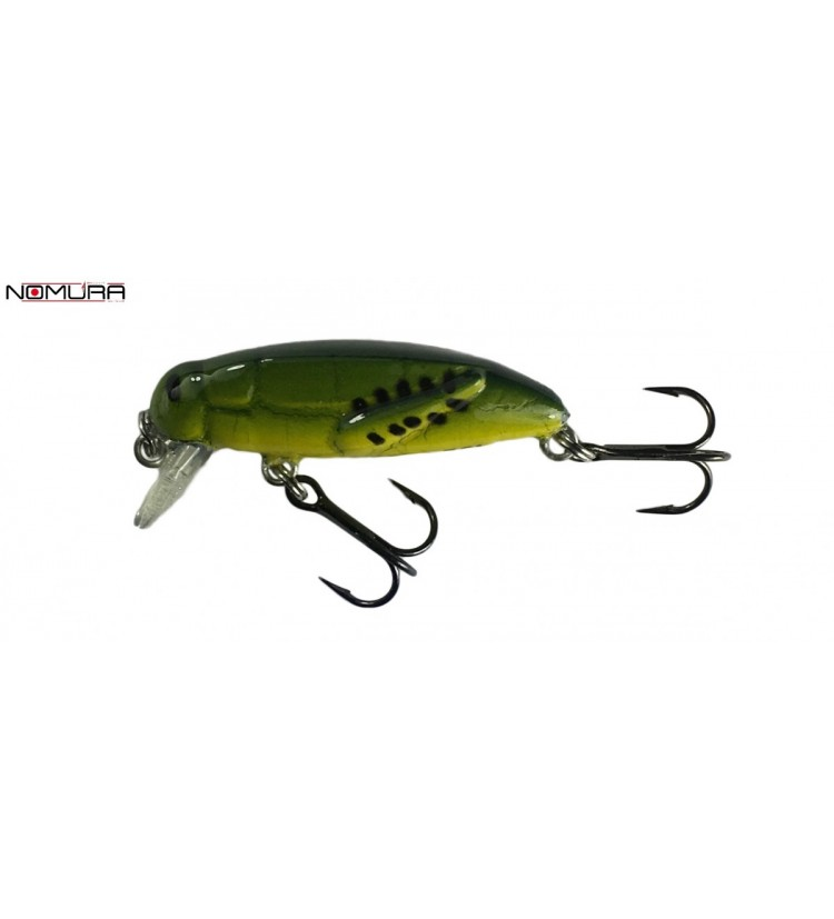 Wobler Nomura Nori Mimetic Green 3,7cm