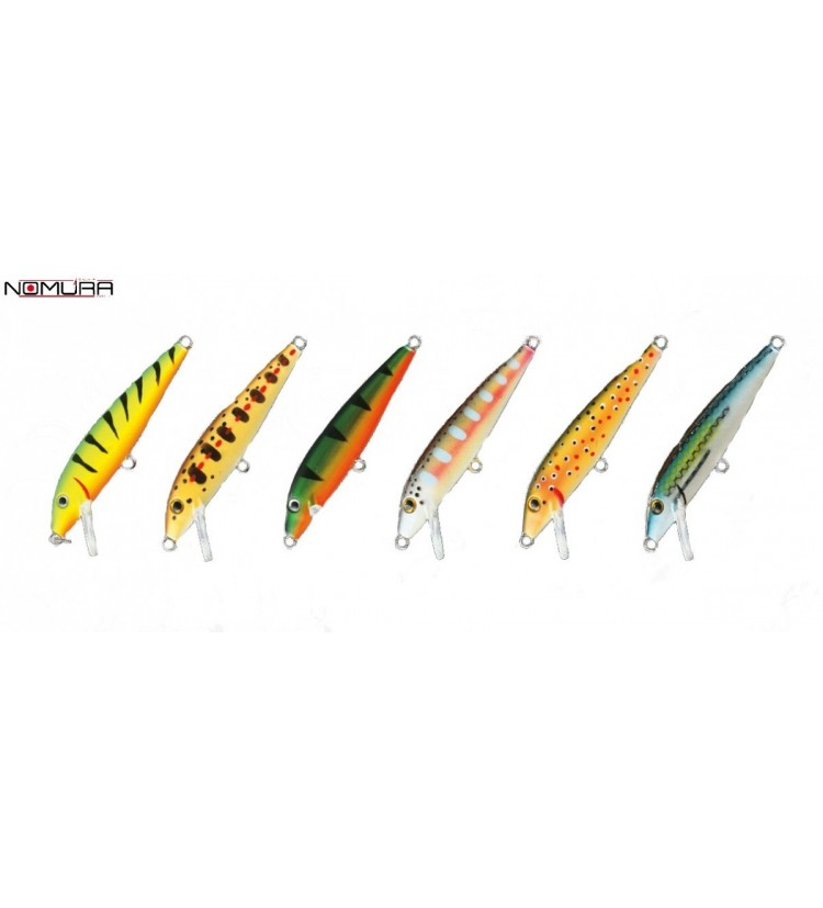 Woblery Nomura Floater Minnow 7cm
