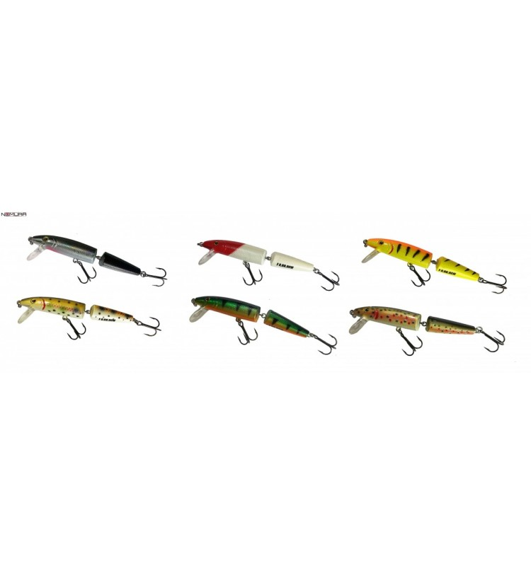 Woblery Nomura Jointed Minnow 9cm