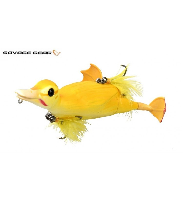 Savage Gear 3D Sebevražedná kachna - žlutá