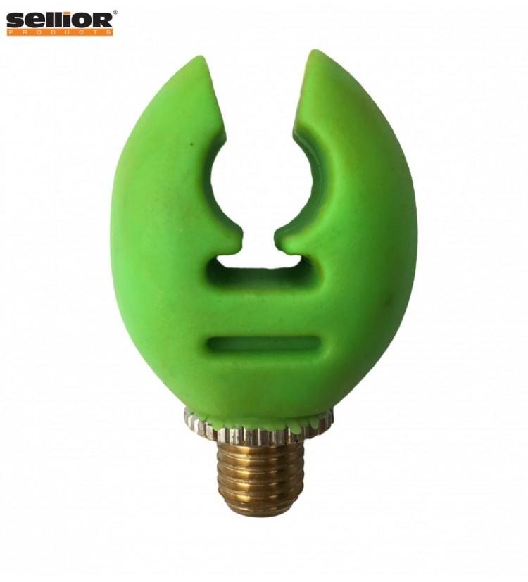 Rohatinka Sellior - zadní gumová (fluo-zelená)