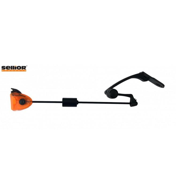 Indikátor záběru Sellior Carp Swing kyvadlový bez pružiny - oranžový