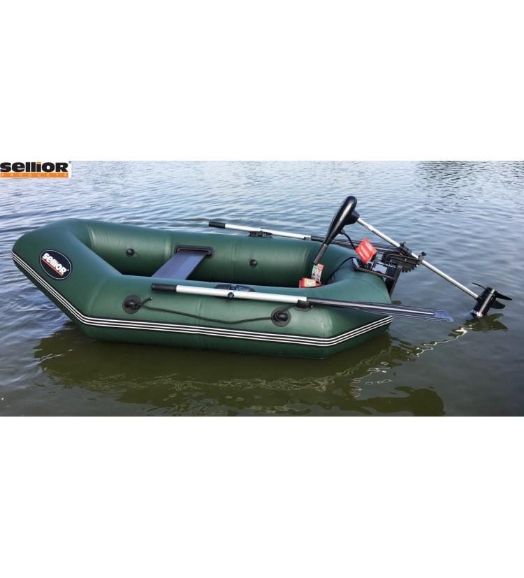Člun Sellior Green Pearl 220cm + Elektromotor Watersnake Tracer 34