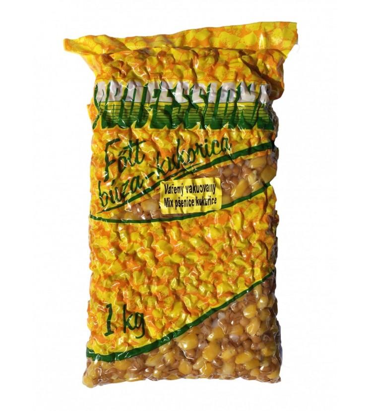 Partikl Kukuřice + Pšenice Professional Vařená Vakuovaná - 1kg