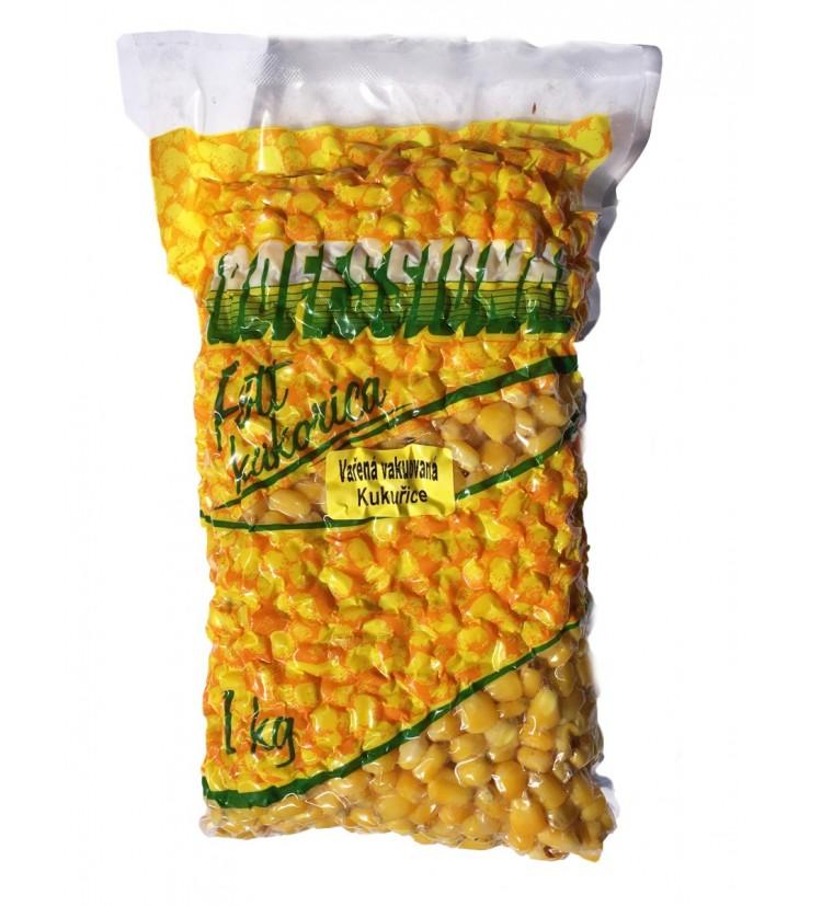 Partikl Kukuřice Professional Vařená Vakuovaná - Nature 1kg