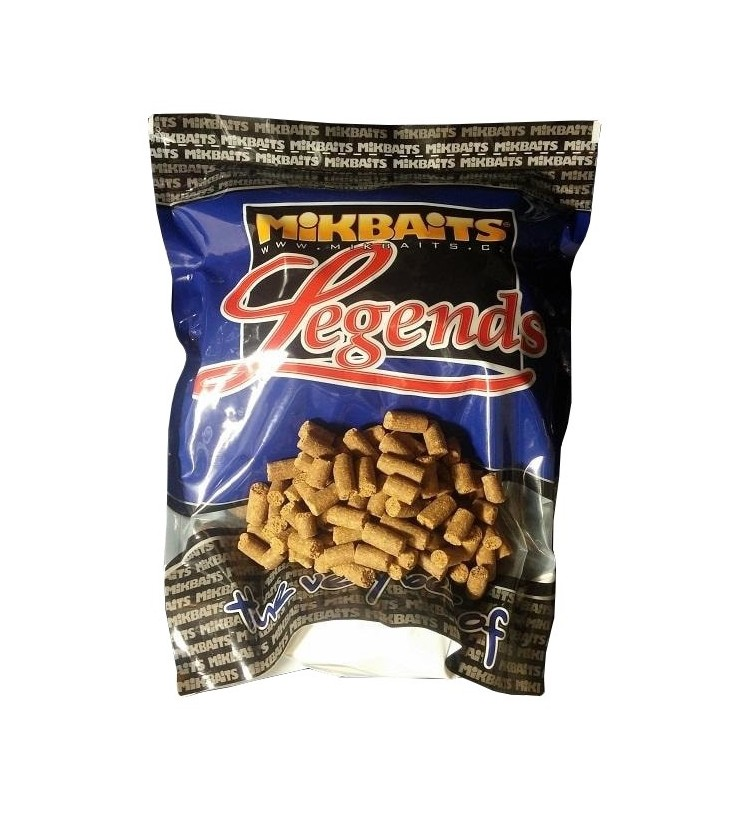 Mikbaits Legends pelety 1kg - Oliheň Javor 8mm