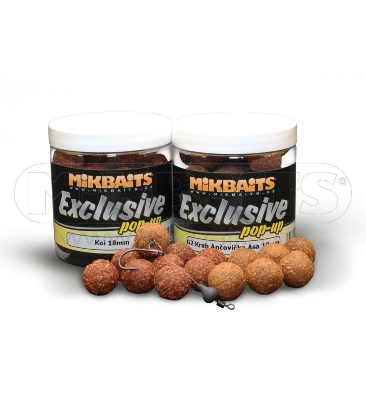 Mikbaits Gangster pop-up 250ml - různé příchutě 18mm