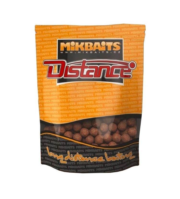 Mikbaits DISTANCE boilie 1kg - různé příchutě 24mm