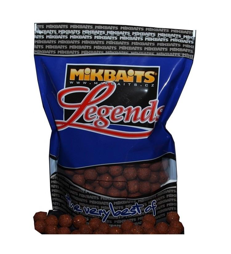 Mikbaits Legends boilie 10kg - různé příchutě 24mm
