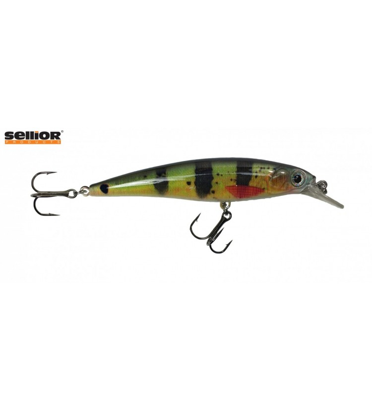 Wobler Sellior Minnow 10cm - Peacock bass