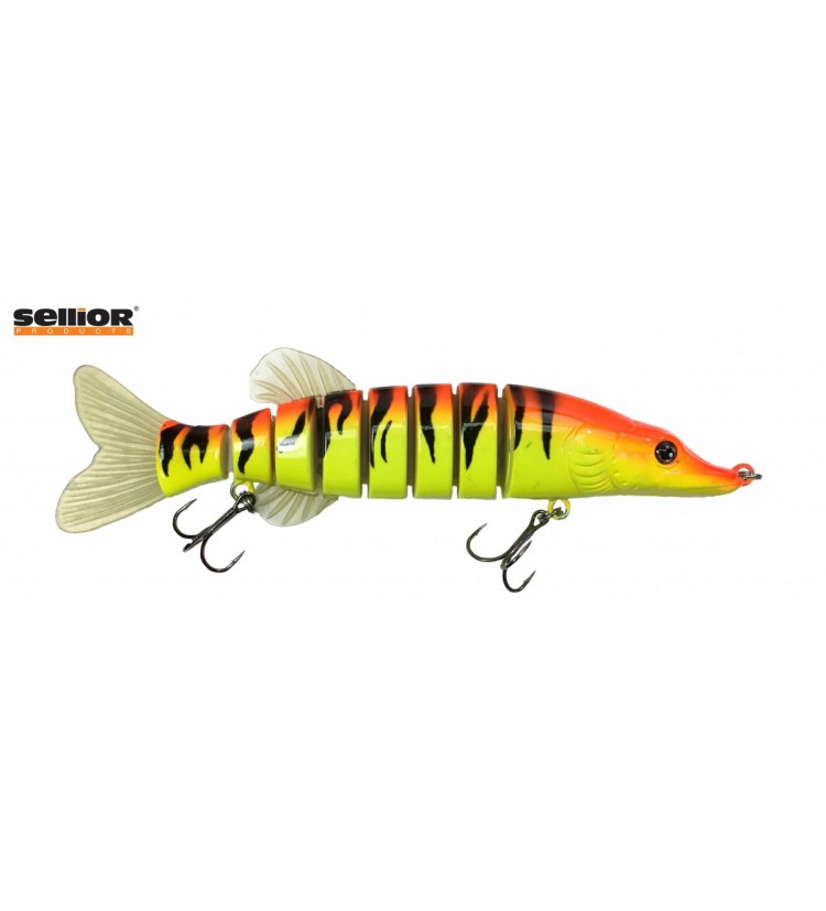 Wobler Sellior Pike 20cm - Orange Tiger
