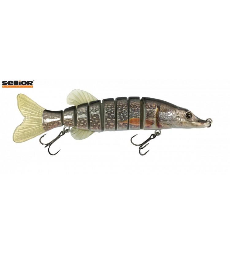 Wobler Sellior Pike 20cm - Grey