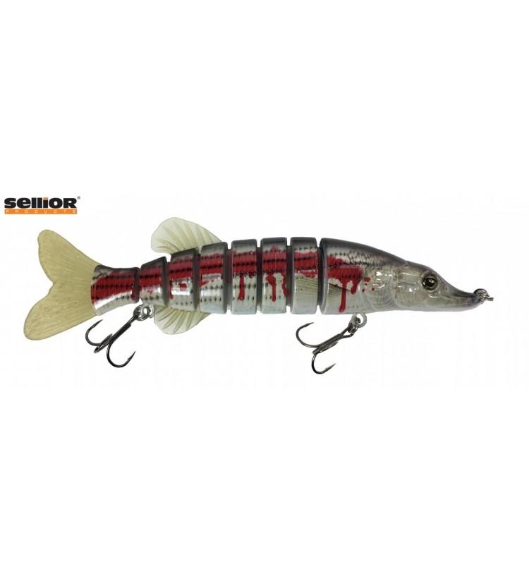 Wobler Sellior Pike 20cm - Blood