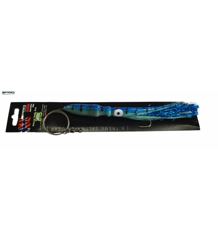 Chobotnice SPRO 22cm / 106g - modrá