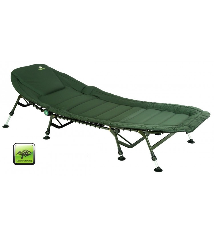Lehátko Specialist Giants Fishing Plus 8Leg Bedchair