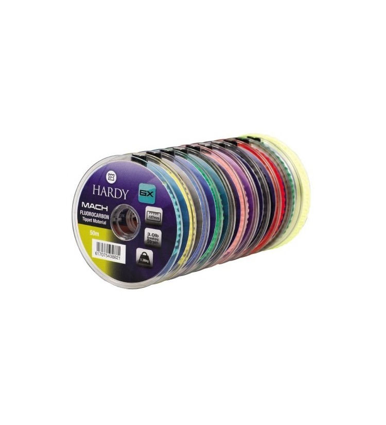 Vlasec Hardy Mach Fluorocarbon Tippet 0,157mm, 50m (HMF010)