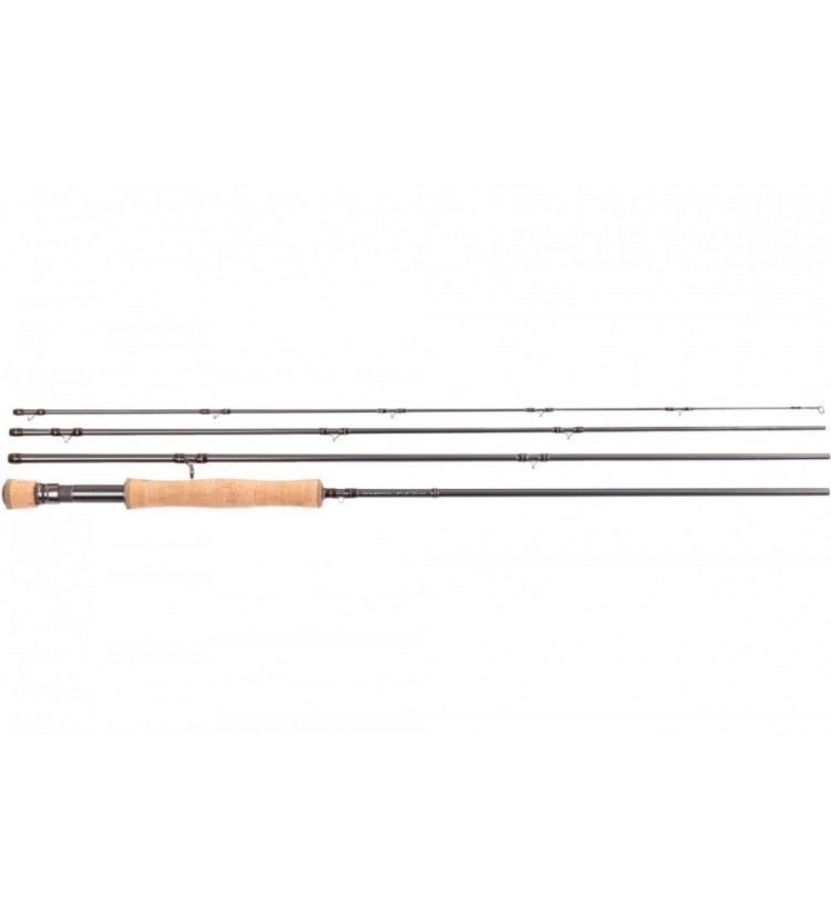 Prut Truefly 9,6ft #6 4pce Fly Rod New